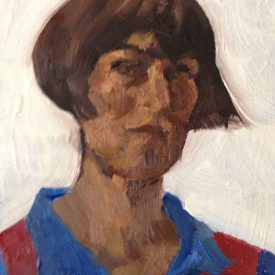 birthday self portrait 2016, blaugrana