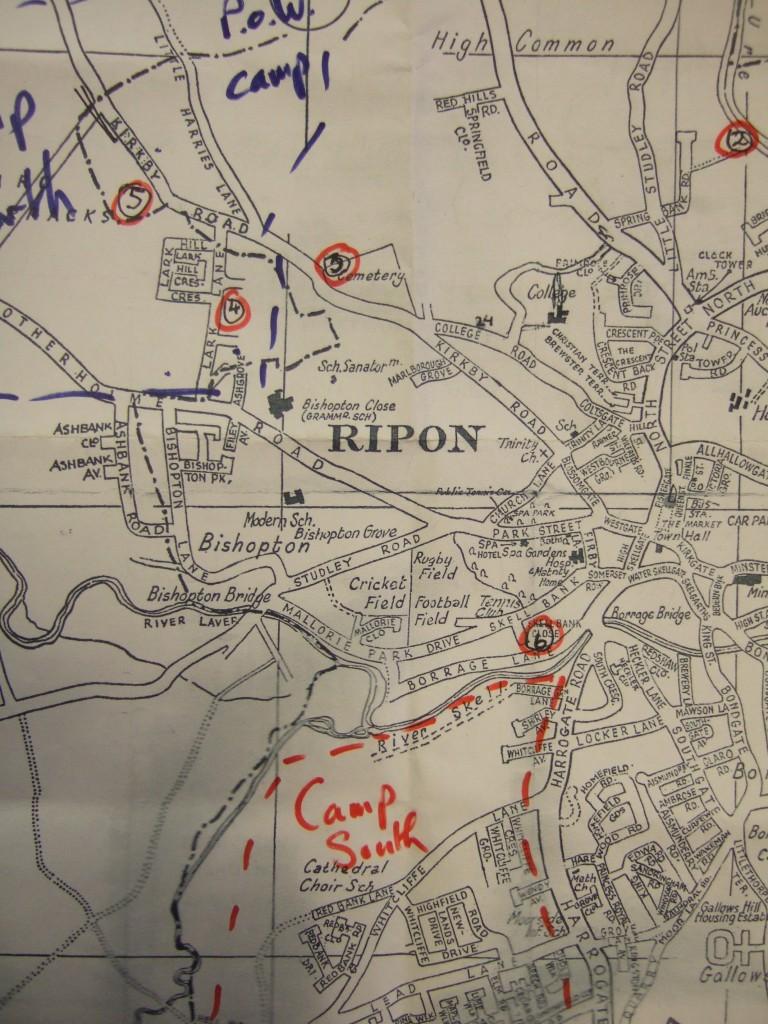 map of Ripon