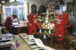 Charles Oldham Fine Wood Carving - workshop