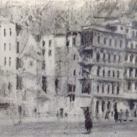 Marzo 1938, Gran Via y Calle Balmes