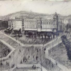 Plaza Cataluña antigua