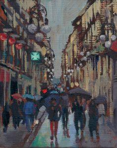 Pluja al Carrer Ferran