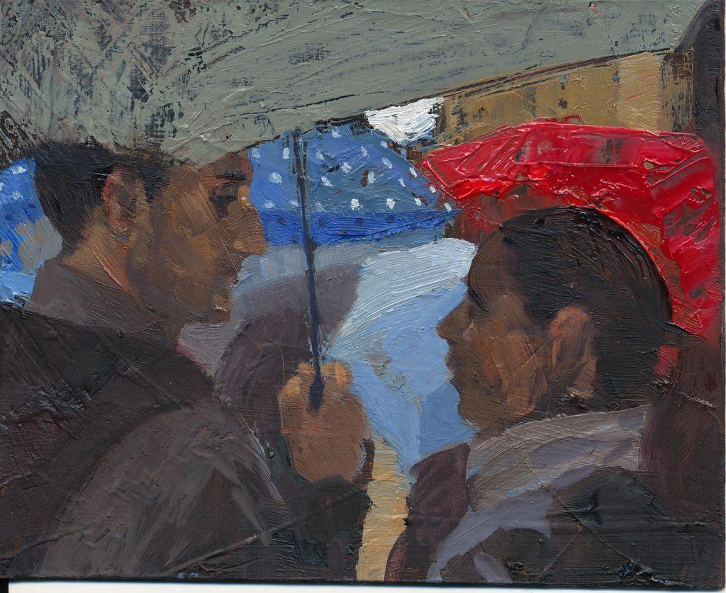 paraigües:pluja al carrer de montcada copy